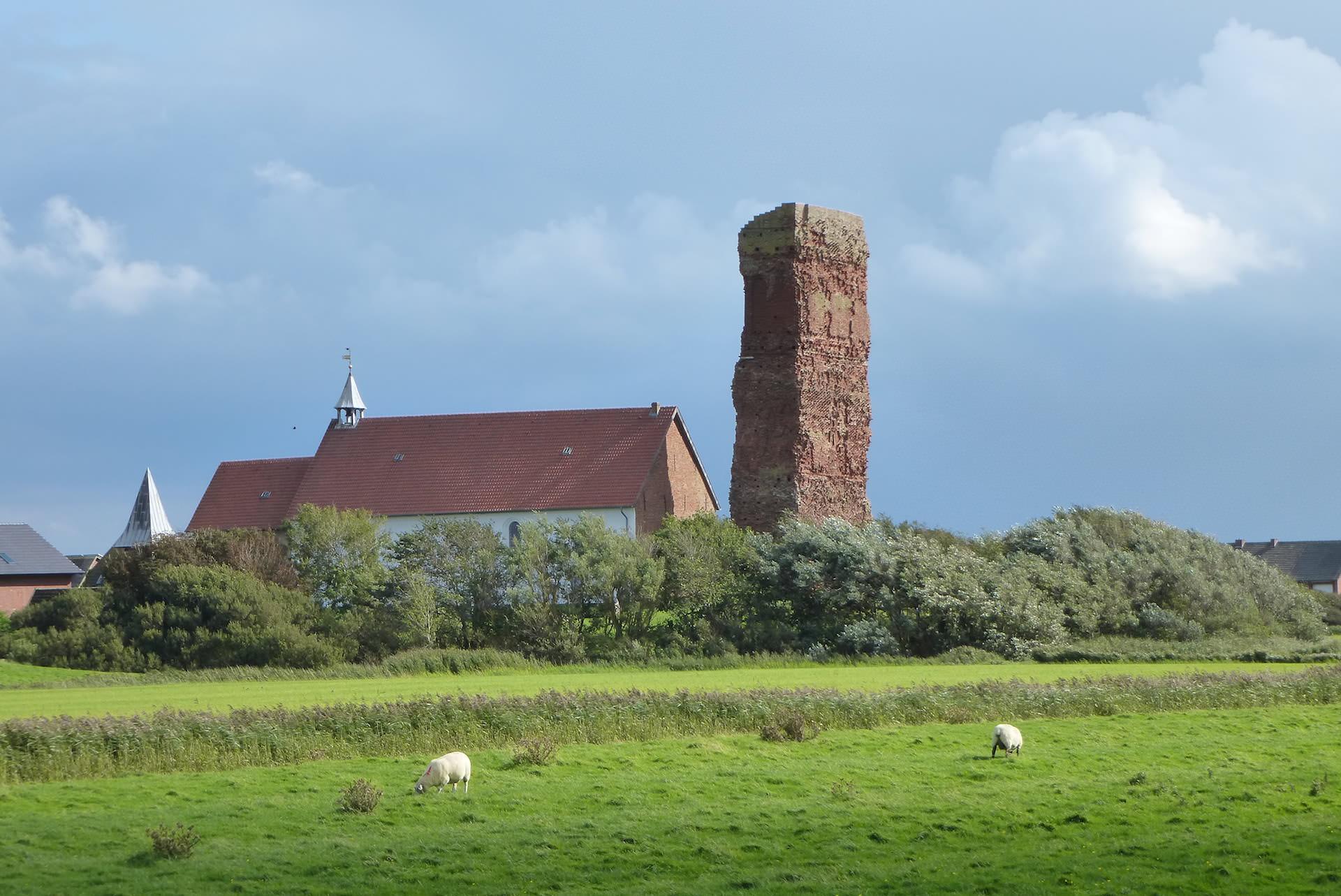 Kirche Museum Ruine Pellworm