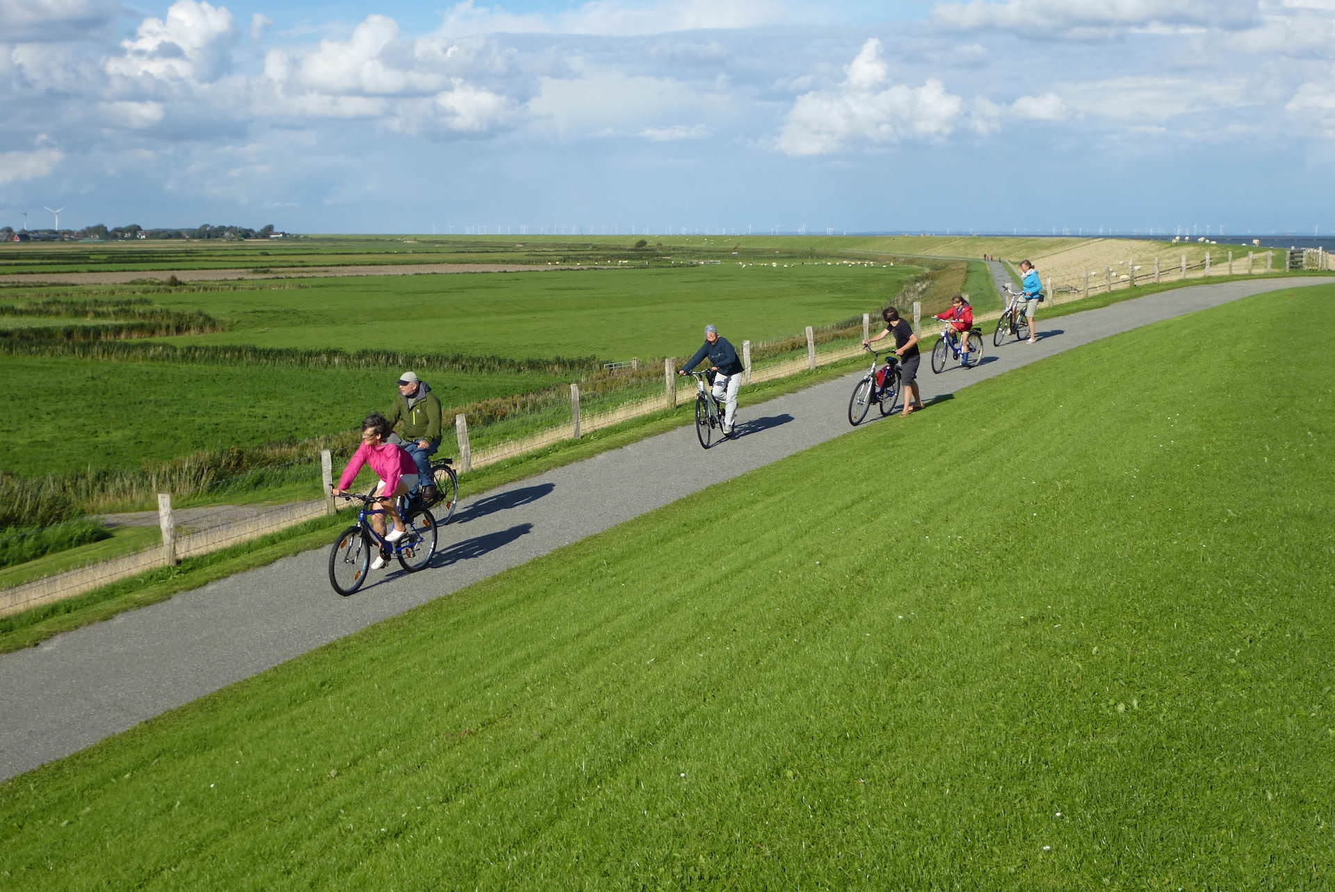 Fahrrad und E-Bike Tour Pellworm