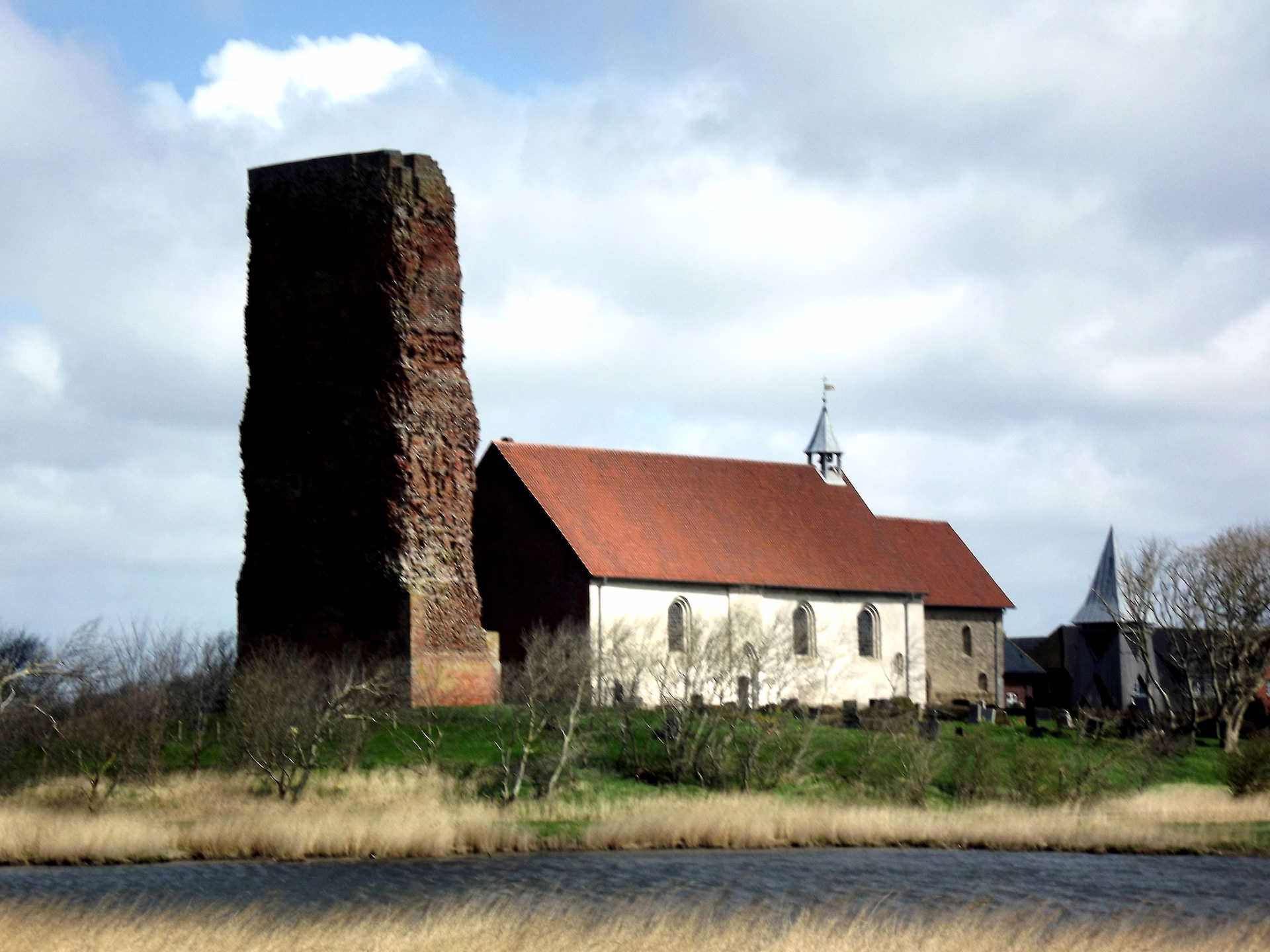 Kirche Museum Ruine Pellworm Nordsee
